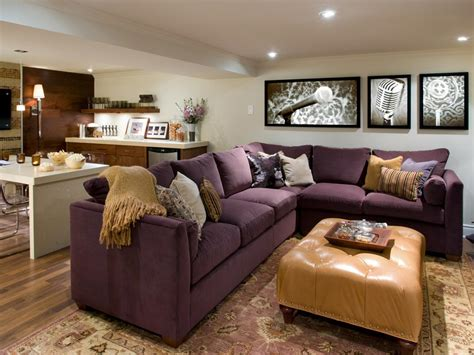 10 chic basements by candice decorating and design