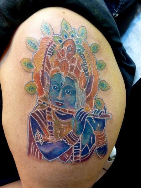 krishna tattoo photo hindu goddess krishna by mully tattoonow