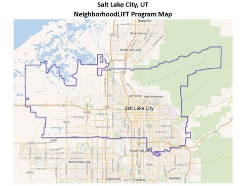 Salt Lake County Utah Property Records Neighborhood Lift Map Utah Housing Programs