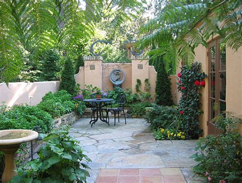 courtyard backyard ideas the of landscaping a small yard