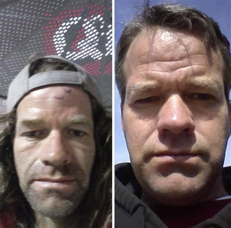 that looks like frank gallagher friend of mine got sober and went from looking like frank gallagher to matt d
