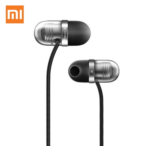 Headset Xiaomi Mi Piston Air Original 100 Earphone original xiaomi piston air earphone with mic remote