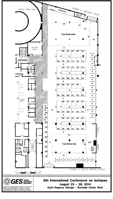 hyatt regency chicago floor plan expo floor plan
