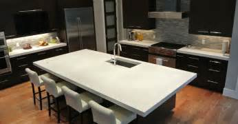Countertop For Kitchen Island by Concrete Countertops Cost Photos How To Diy And Pros