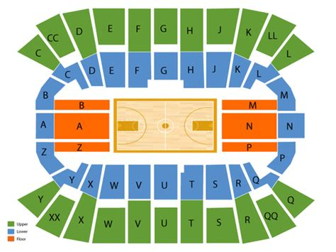 mullins center seating chart mullins center seating chart events in amherst ma