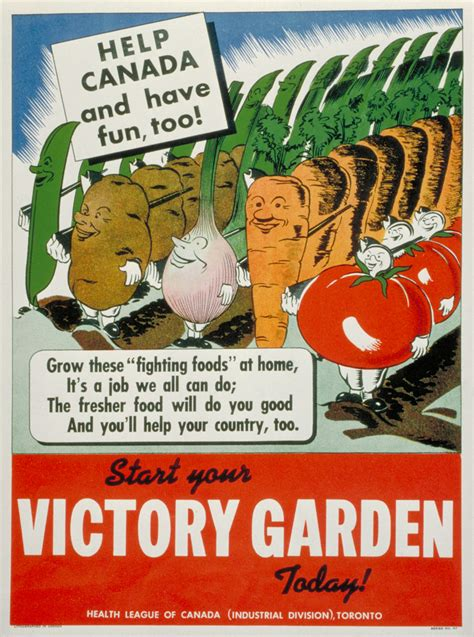 victory gardens the canadian encyclopedia