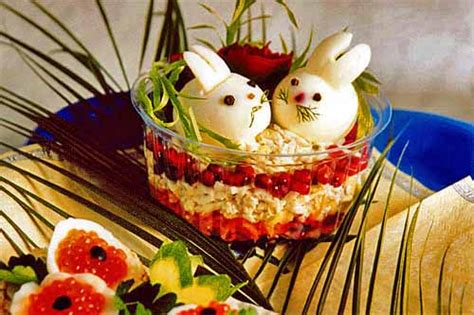 food decorations ideas 15 beautiful easter food decoration ideas edible
