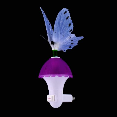 Mini Fiber Optic Butterfly Led Color Changing Effects Butterfly Lights