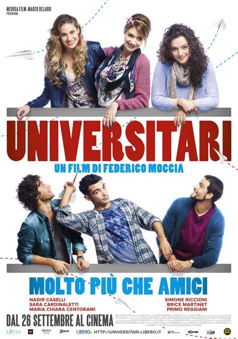 film epici recenti universitari molto pi 249 che amici il poster del nuovo