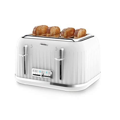 Breville 4 Slice Toaster White breville impressions 4 slice toaster white breville from powerhouse je uk