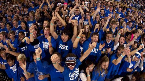 Duke Student Section by Acc Tournament Student Ticket Lottery Announcement Duke
