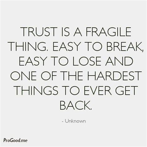Getting My Mba Was The Hardest Thing I Ve Done by Trust Is A Fragile Thing Easy To Easy To Lose And