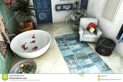 Wood Floor Lamp Plans by Moroccan Bathroom Stock Photos Image 28810163