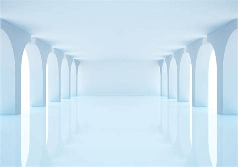 empty white room empty white room with columns and windows 3d illus by winers pro on deviantart