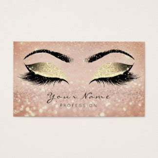 Lashes Business Cards Templates Zazzle Eyelash Business Cards Templates