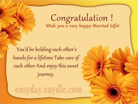 Wedding Wishes Message To Friend by Top Wedding Wishes And Messages Easyday