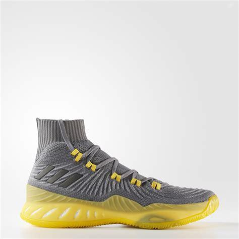 Sepatu Basket Adidas Explosive Primeknit Grey adidas explosive 2017 primeknit shoes grey adidas us