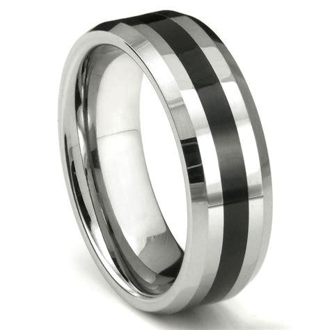 Tungsten Carbide Ring Wedding by Lonzo Tungsten Carbide Wedding Ring