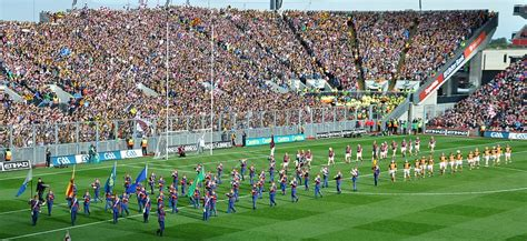 layout of nowlan park all ireland final replay photos in croke park photo
