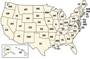 easy map of the united states easy united states map