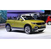 Volkswagen T Cross Breeze Concept  Future Polo SUV Cabriolet En