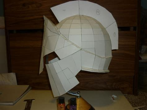 How To Make A Spartan Helmet Out Of Paper - how tp make a paper helment invitations ideas