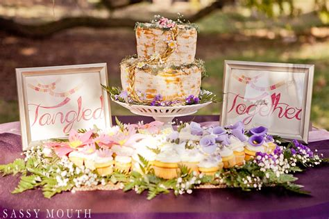 tangled together rapunzel wedding styled shoot this tale