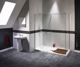 Shower wand or multiple jets in your doorless shower ideas