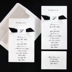 wedding invitation wording black tie invitations on formal wedding invitations