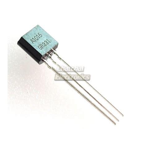transistor a1015 2sa1015 silicon pnp epitaxial transistors