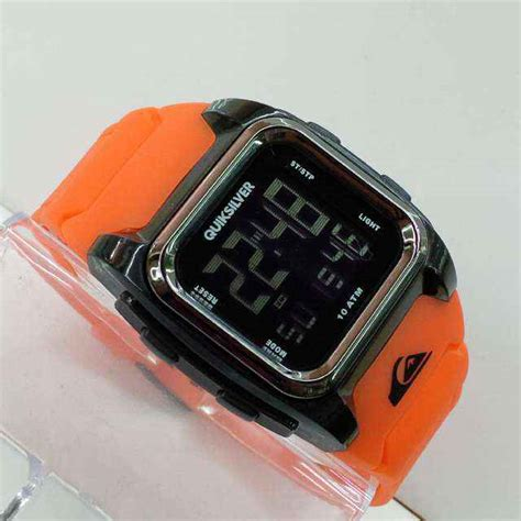 Jam Quicksilver Ll001 Orange jual jam tangan quicksilver r 522 digital tali rubber