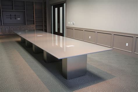 Glass Top Meeting Table Back Painted Glass Conference Tables Fulbright Glass Boards