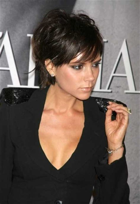 when did victoria beckham cut her hair very short 15 best short haircuts for brunettes short hairstyles