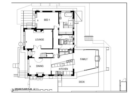 ground floor extension plans modern renovation extension in melbourne australia