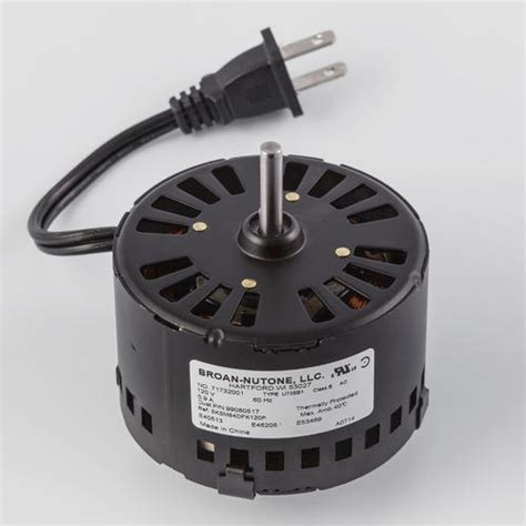 broan bathroom fan motor replacement broan 174 replacement ventilation fan motor at menards 174
