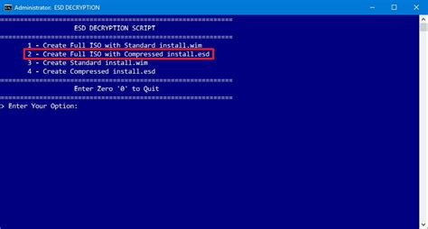 install windows 10 via iso how to create a windows 10 iso file using an install esd