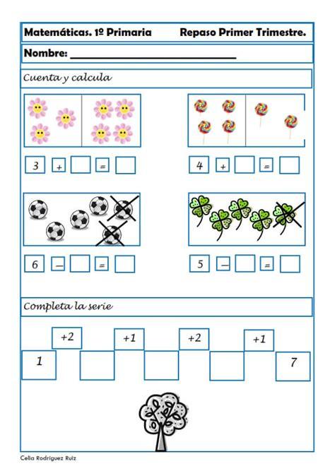 cuaderno de repaso matem 225 ticas de primero problemas para imprimir de matematicas primaria minihogar kids ejercicios de matem 225 ticas