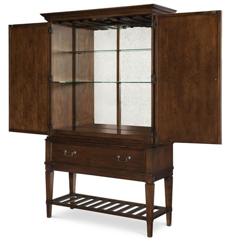 Open Bar Cabinet Rachael Home The Upstate Collection Design By Gahs