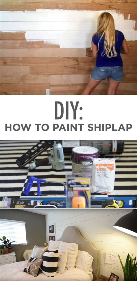 How To Paint Shiplap 1000 Ideas About Shiplap Ceiling On Bonus