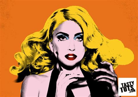 tutorial photoshop warhol create andy warhol style pop art lady ga ga by tastytuts