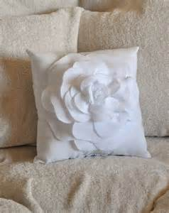 Large White Decorative Pillows by White Decorative Pillow White Pillow 14 X 14 By Bedbuggs