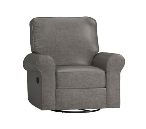 Pottery Barn Rocker Recliner by Leather Comfort Swivel Rocker Recliner Pottery Barn
