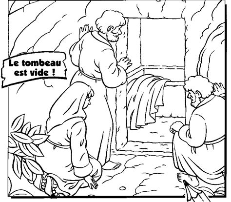 coloring page for resurrection easter day empty tomb jesus resurrection pictures coloring