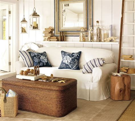 coastal livingroom style homes house furniture