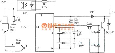 Ic M57962l m57962l typical application exle electrical equipment