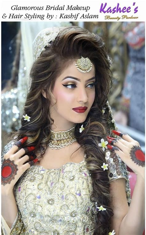 Wedding Hair Dress Style by 89 Best Kashee S Bridal Makeup Images On