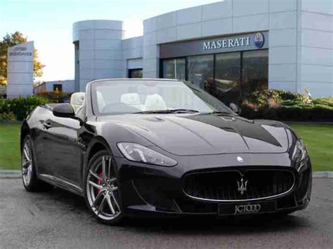 Maserati Convertible Maserati 2015 Grancabrio V8 Mc 2dr Mc Shift Automatic