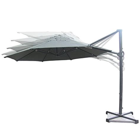 11 Cantilever Patio Umbrella With Base Marvelous 11 Ft Offset Patio Umbrella 3 11 Ft Cantilever Patio Umbrella With Base Newsonair Org
