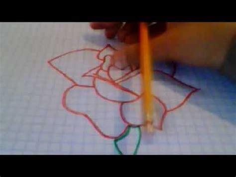 como hacer una rosa imgenes como dibujar una rosa youtube