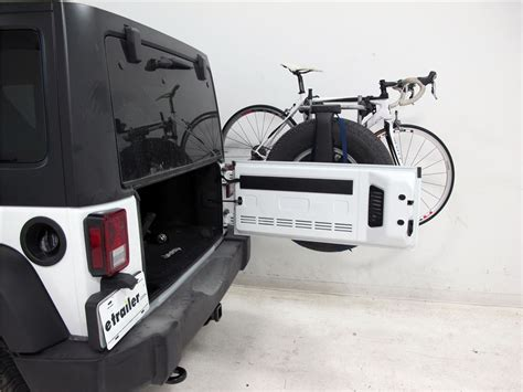 Wrangler Ski Rack by 2016 Jeep Wrangler Unlimited Spare Tire Bike Racks Thule